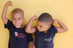 boys-flexing-their-muscles