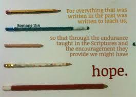 pencil hope